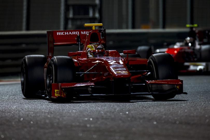 Charles Leclerc (Prema) lors des tests post-saison 2016 à Abu Dhabi