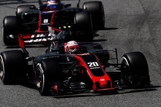 © Haas - Pas de double arrivée dans les points pour les pilotes Haas