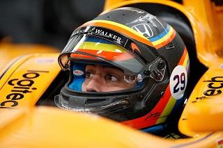 © McLaren - Fernando Alonso n'a qu'une idée en tête : la victoire à Indianapolis