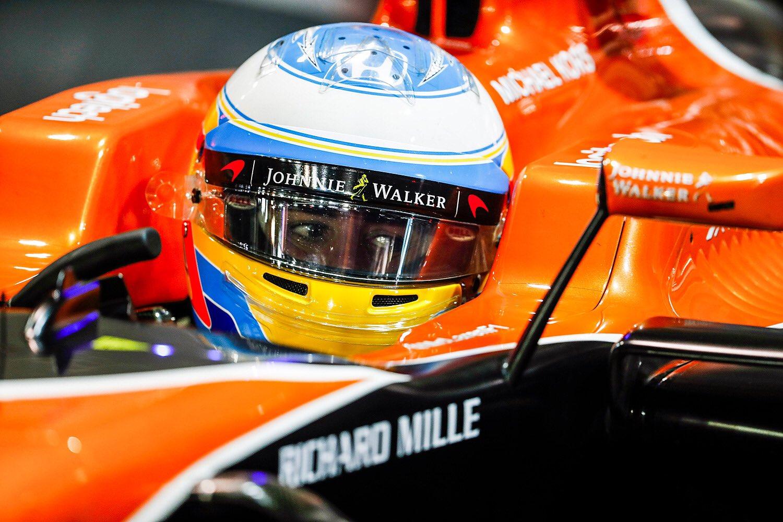 © McLaren - Un week-end encore sans accroc pour Alonso.