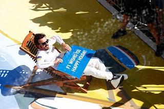© McLaren - Alonso peut partir en vacances avec le sourire