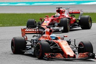 © McLaren - Vettel a croisé la route d'Alonso à Sepang