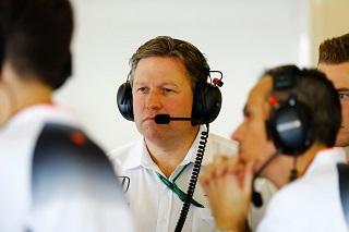 © McLaren - Zak Brown est en train de restructurer McLaren