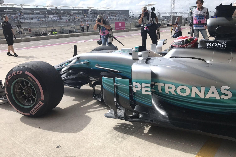 © Mercedes - L'étoile Hamilton continue de briller au Texas