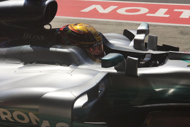 © Mercedes - Lewis Hamilton veut terminer le dernier samedi en tête !