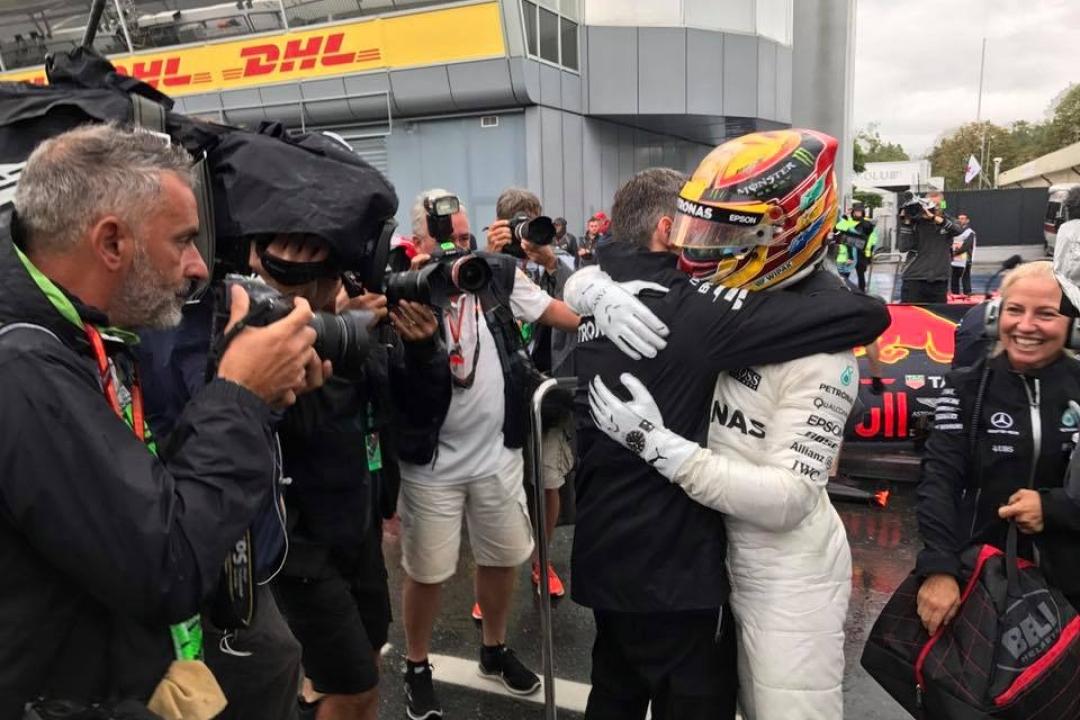 © Mercedes - Lewis Hamilton s'empare d'un des plus prestigieux record de la Formule 1