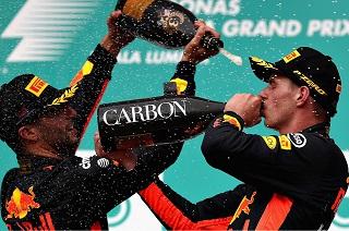 © Red Bull - Une saison 2017 marquée par des victoires pour Ricciardo et Verstappen