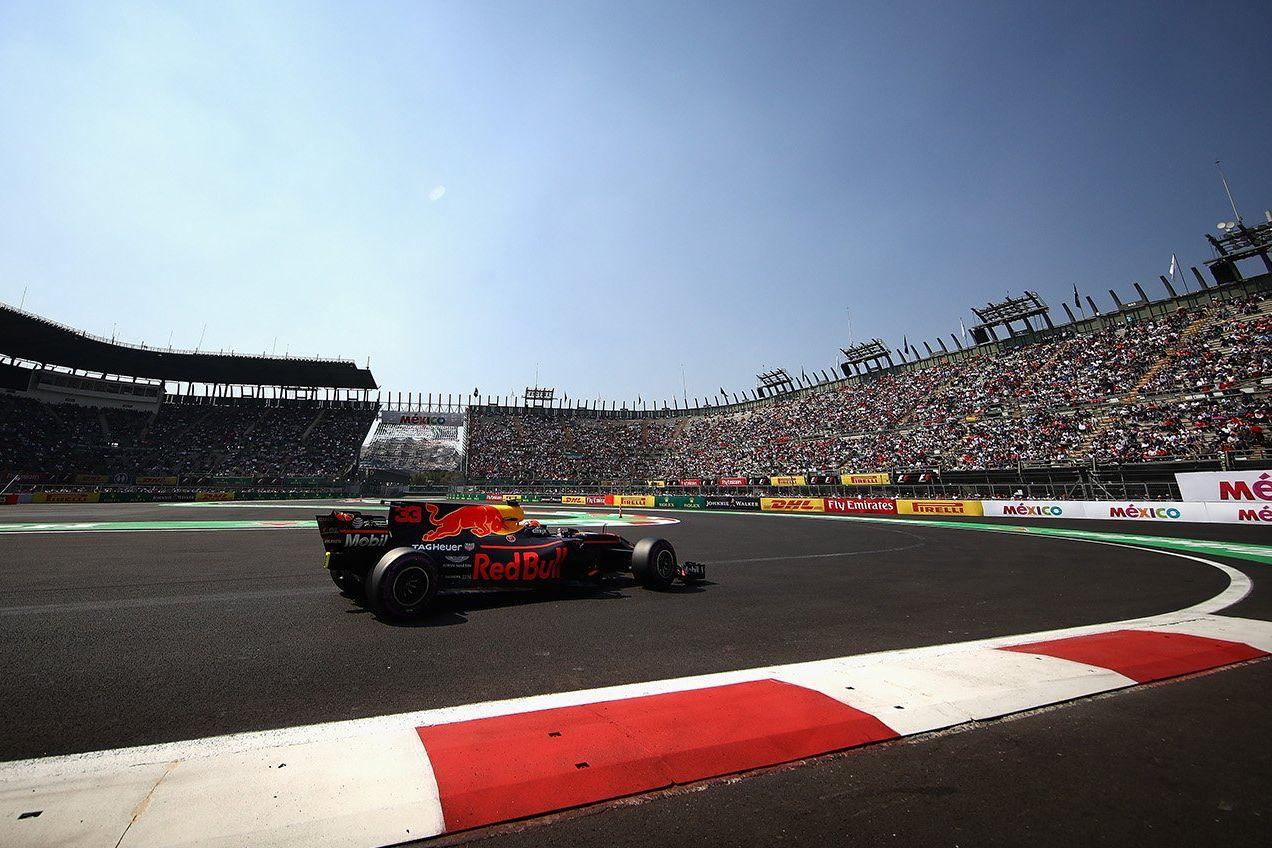 Max Verstappen vise une remontée à Mexico