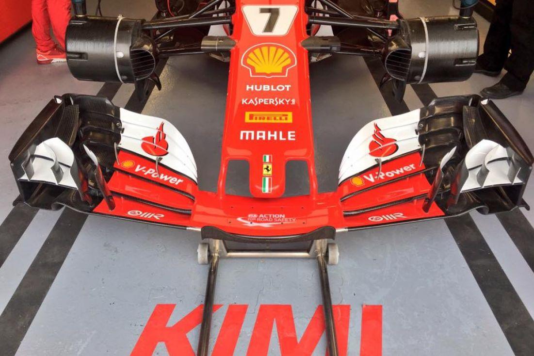 © Scuderia Ferrari - Kimi Räikkönen pointe le bout de son museau en tête de la FP2