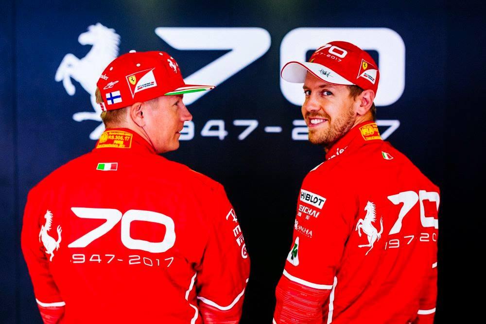 © Scuderia Ferrari - Kimi Räikkönen et Sebastian Vettel tournent le dos à une saison encourageante... et frustrante