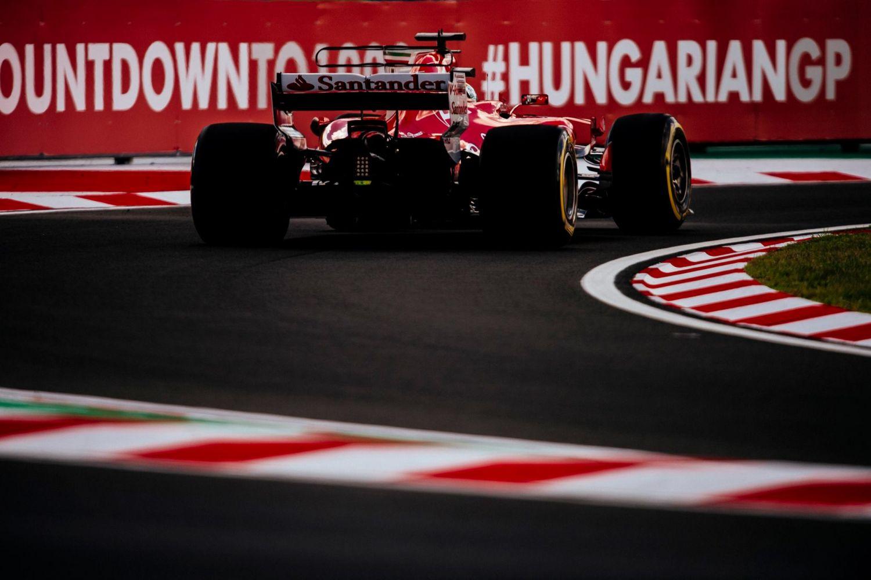 © Ferrari - La Ferrari sur le Hungaroring