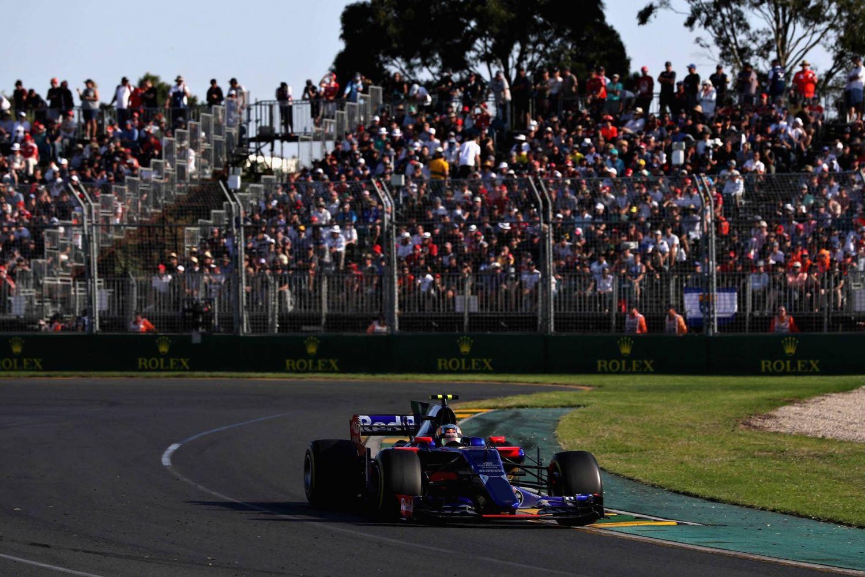 © Toro Rosso entame bien sa saison à Melbourne