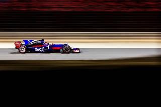© Toro Rosso - Kvyat, seul pilote Toro Rosso à l'arrivée du Grand Prix