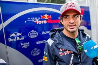 © Toro Rosso - Sainz a fait une erreur durant les EL1