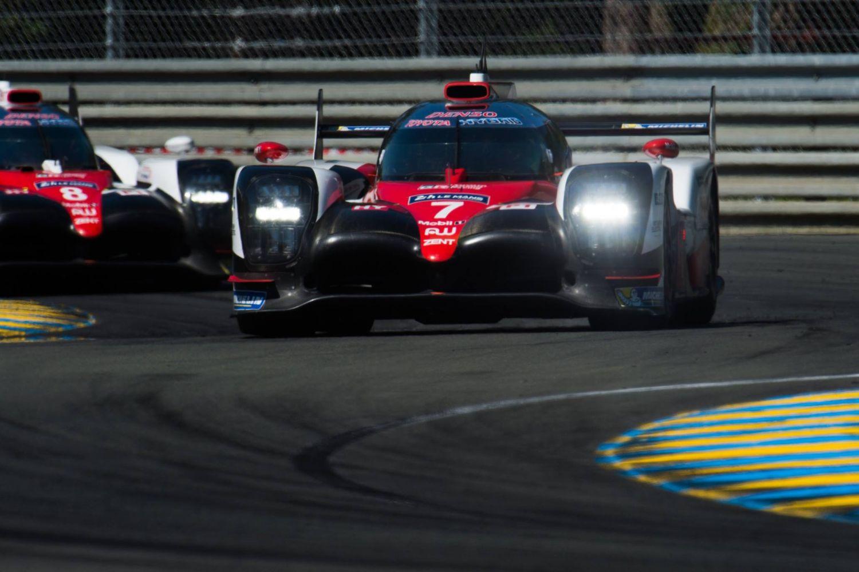 © Toyota - La numéro 7 imprime le rythme après le premier quart de course