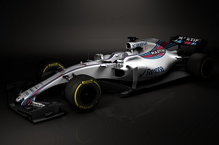 © Williams - La première F1 millésimée 2017 est apparue !