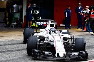 © Williams - La FW40 va être clouée au garage pour le reste de la journée