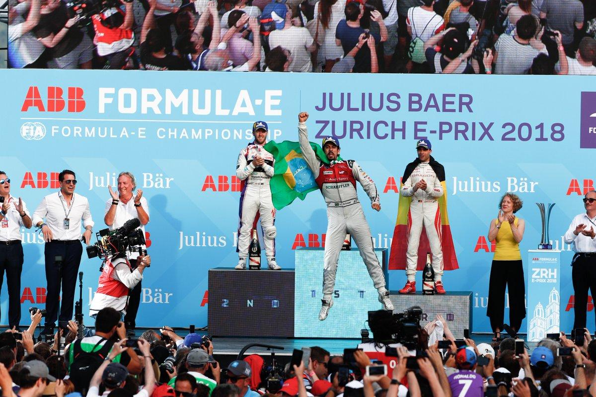 © ABB Formula E - Di Grassi enfin victorieux cette saison