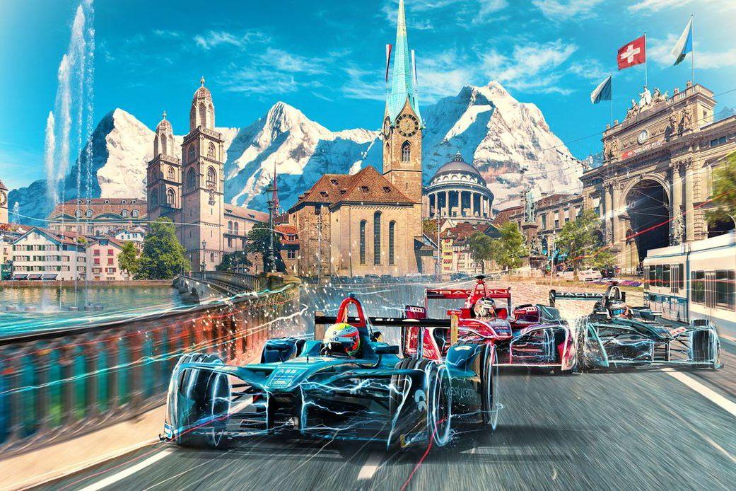 © ABB Formula E - La Formule E prend de l'altitude et de la hauteur en Suisse