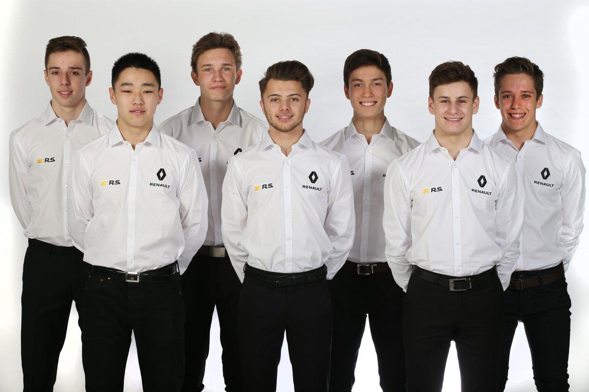 © Renault Sport F1 - Le touche français dans l'académie Renault