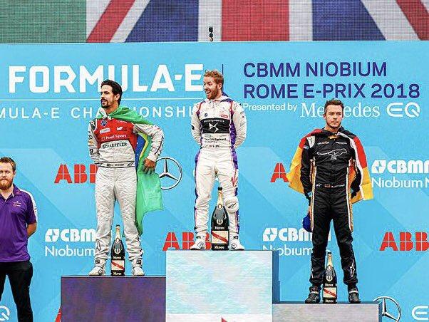 © ABB Formula E - Bird triomphe à Rome
