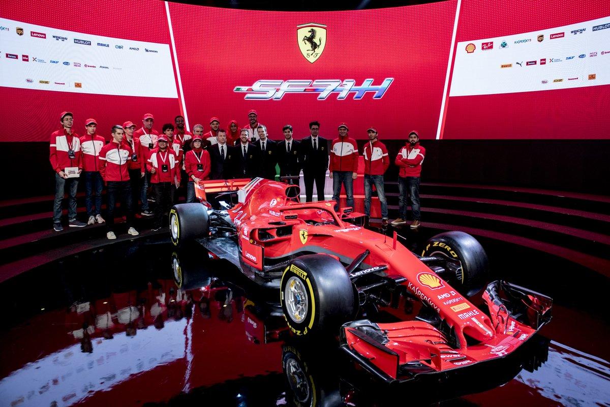 © Scuderia Ferrari - La SF71-H s'annonce déjà comme une concurrente sérieuse de la W09