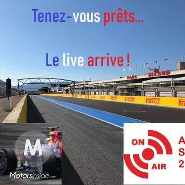 © Alexandre Lepère / Motors Inside - Rendez-vous à 15h sur notre live Youtube !