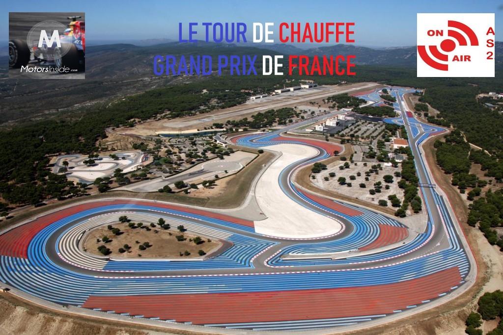Rendez-vous ce dimanche 15h pour vivre ensemble les derniers instants avant le Grand Prix de France !