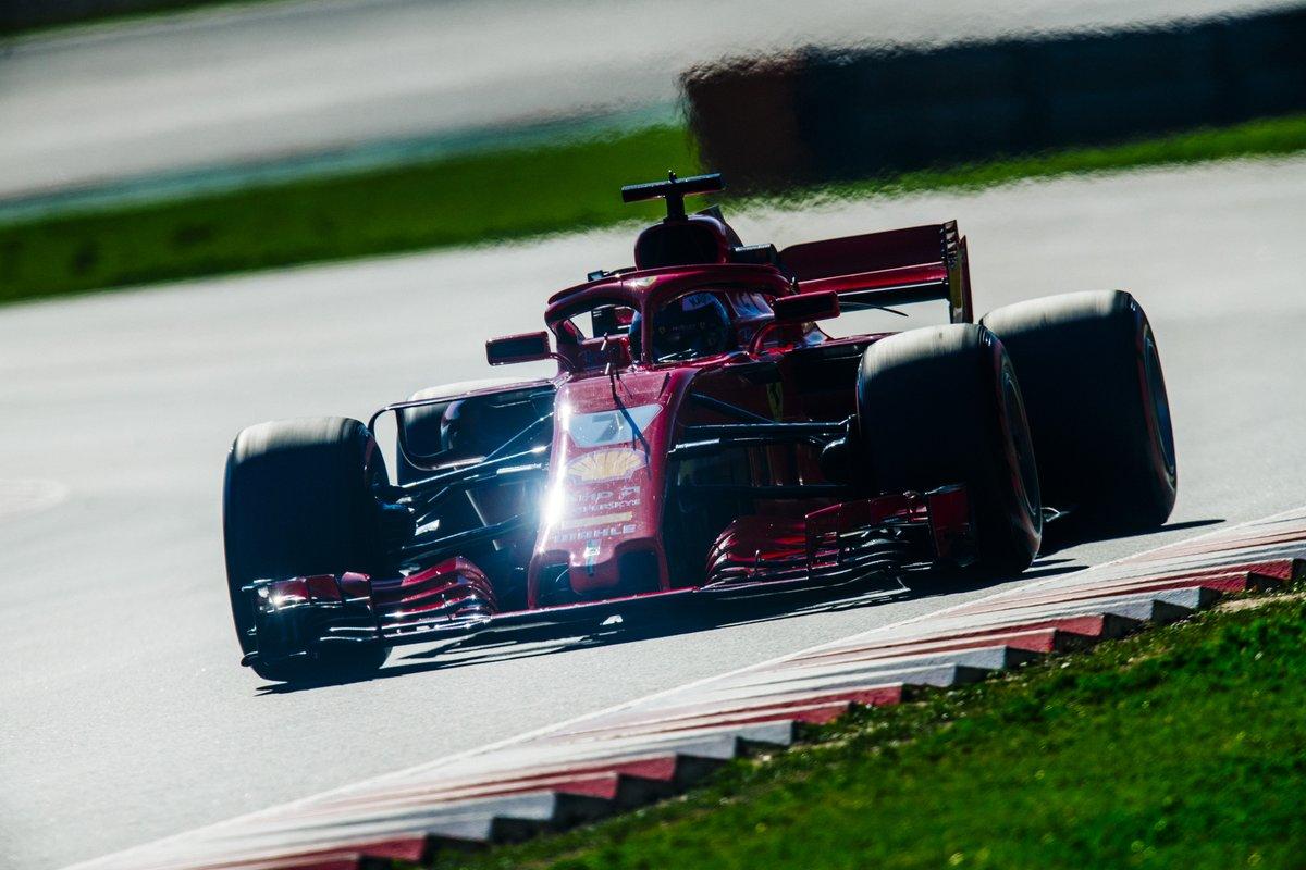 © Scuderia Ferrari - Kimi Raikkonen finit sur une bonne note Barcelone