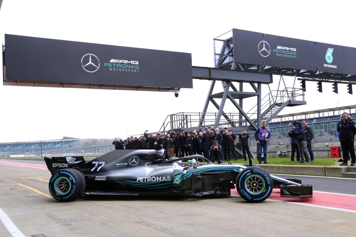 © Mercedes - La saison 2019 va commencer !