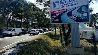 © France Bleu - Des kilomètres de bouchons vers le Castellet ce vendredi
