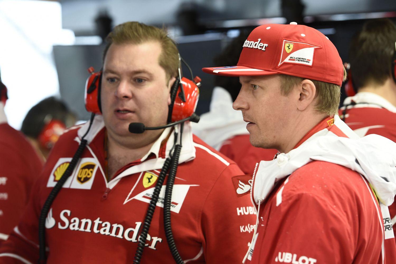 © Ferrari - Dave Greenwood ne sera plus aux côtés de Kimi Raikkonen