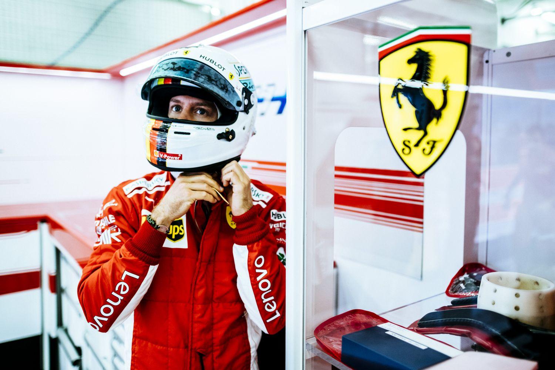 © Ferrari - Sebastian Vettel a retrouvé le chemin de la pole