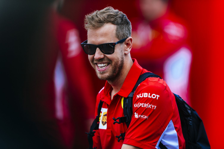Vettel fait de nouveau parler son talent
