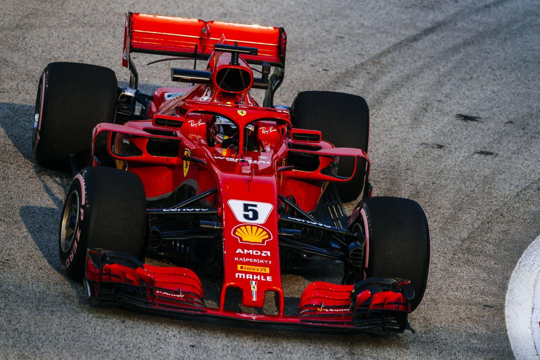 © Ferrari - Vettel remporte le Grand Prix de Singapour!