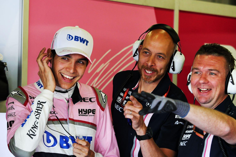 © Force India - Esteban Ocon joue les invités surprise en Belgique