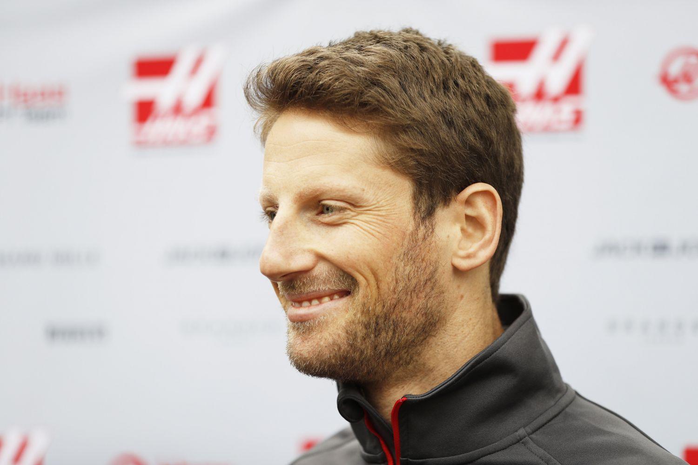Romain Grosjean ici avec Haas en 2018