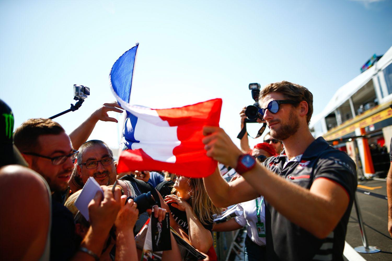 © Haas - Romain Grosjean a été le meilleur des Français en Autriche