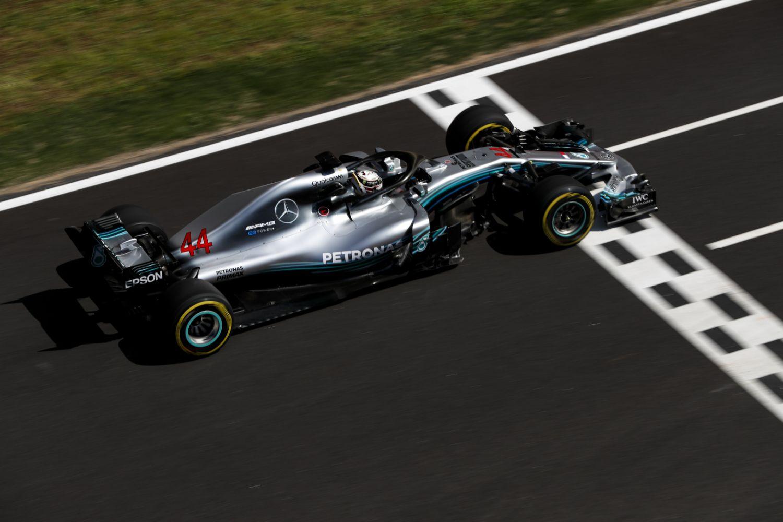 © Mercedes - Lewis Hamilton impressionnant en qualifications à Barcelone