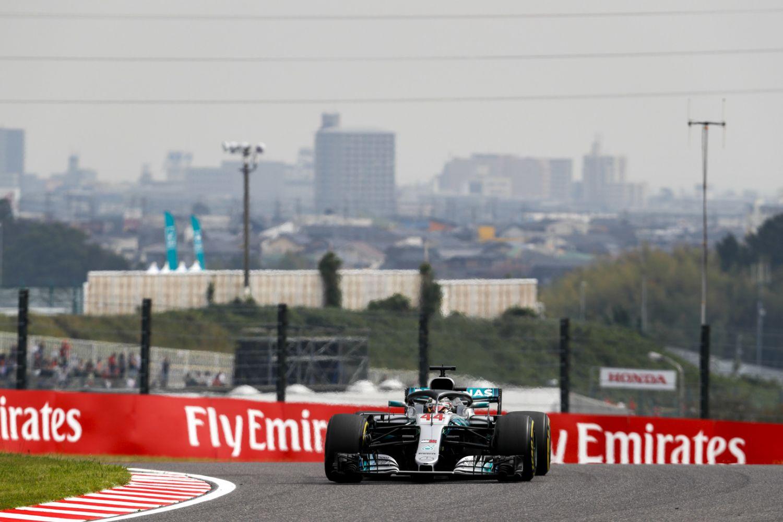 © Mercedes - Lewis Hamilton n'a pas tremblé