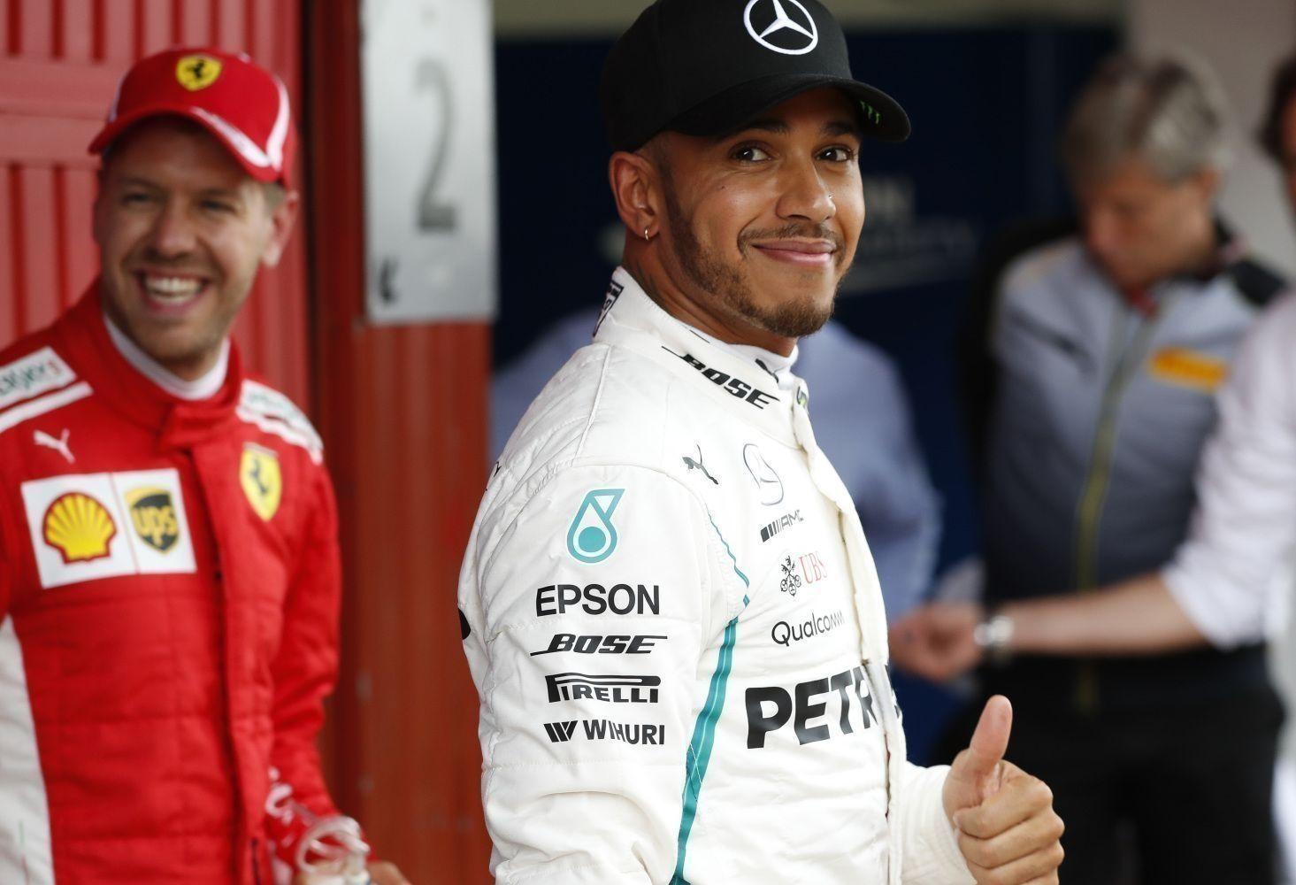 © Mercedes - Seul Lewis Hamilton a encore le sourire à la fin du Grand Prix d'Espagne