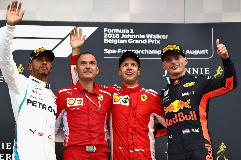 © Red Bull - Les trois hommes n'ont jamais été menacés de la course