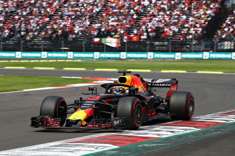 © Max Verstappen lors de sa victoire en 2018
