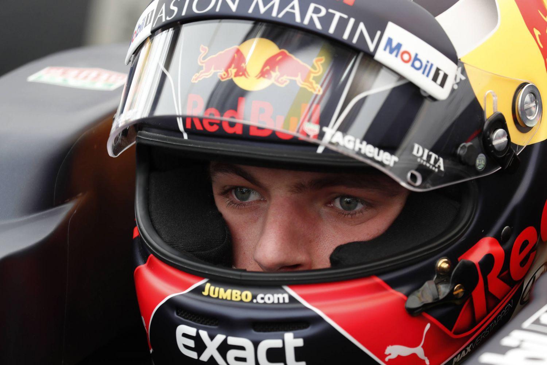 © Getty/Red Bull Content Pool - Jumbo a monnayé sa présence sur le casque de Max Verstappen