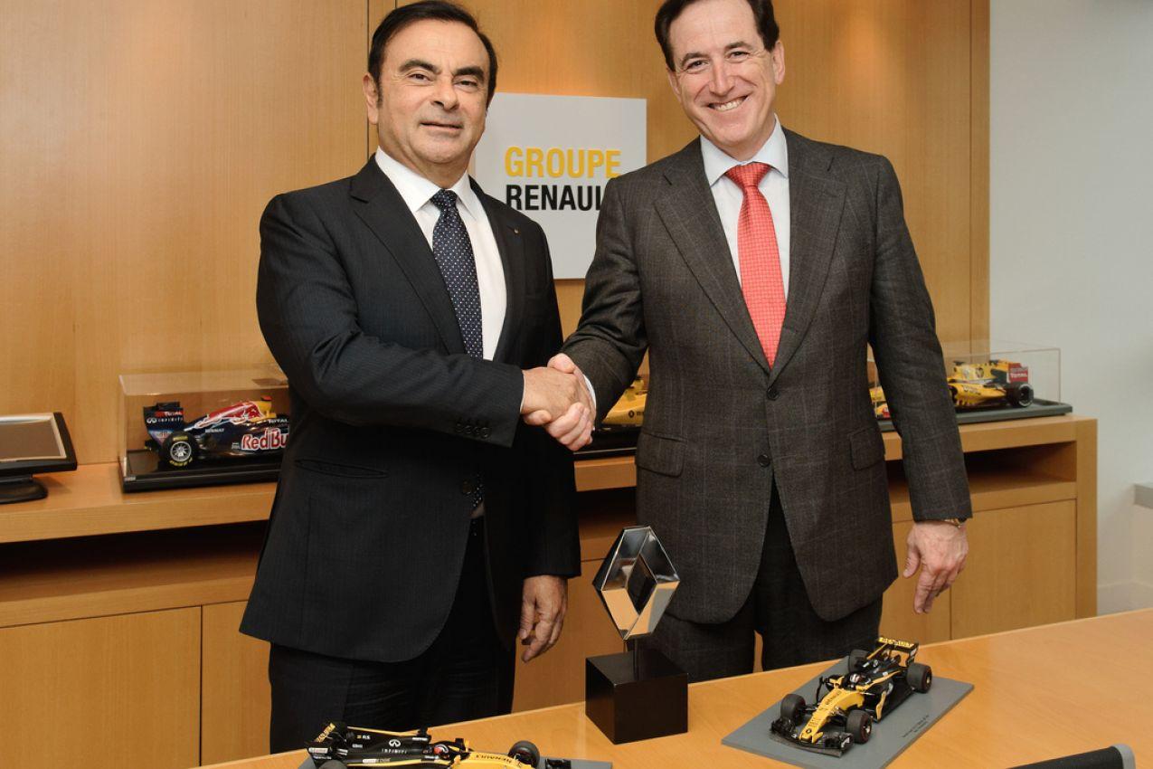 © Renault - L'état-major de Renault et MAPFRE s'est rassemblé à Paris
