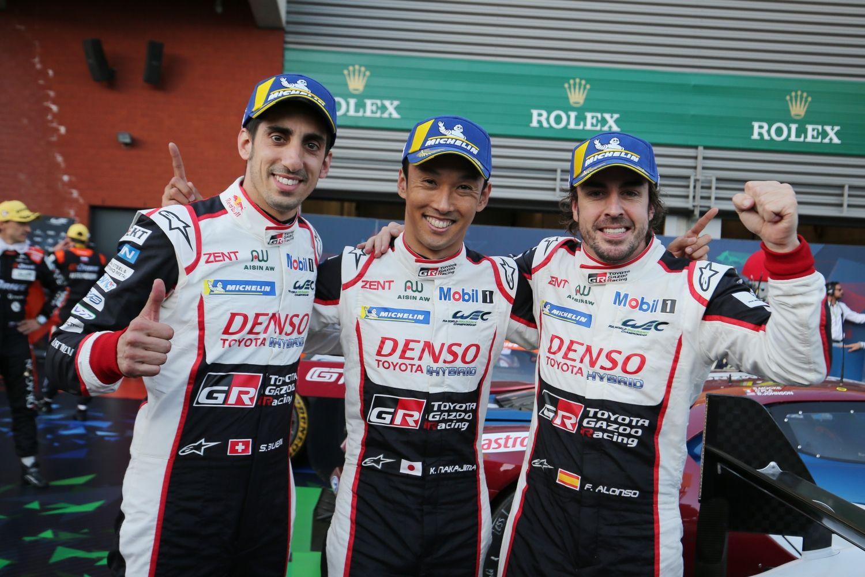 © Toyota - Buemi, Nakajima et Alonso représentent bien l'éclectisme des pilotes actuels