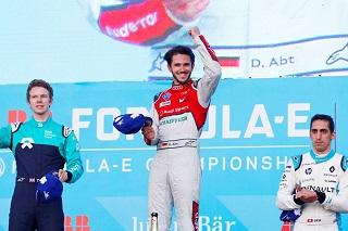 © ABB Formula E - Un podium et une victoire pour le moins inattendu