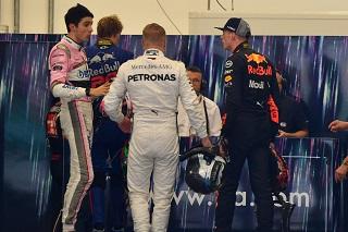 C'était chaud entre Ocon et Verstappen après la course !