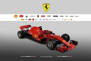 © Ferrari - La SF71-H est sortie