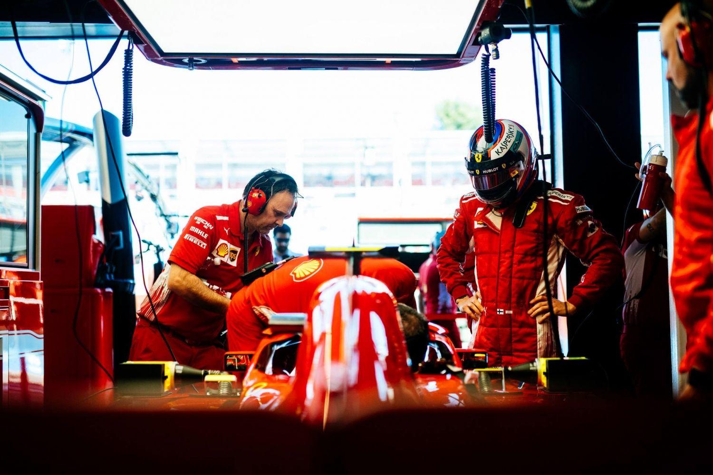 © Ferrari - La consternation et l'effroi dans le clan de Kimi Raikkonen